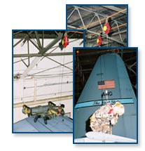 Climbing safety systems, horizontal lifelines, ladder safety gates for railroad signal bridges