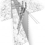 Trench access and exit