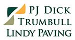 PJ Dick Trumbull Lindy Paving